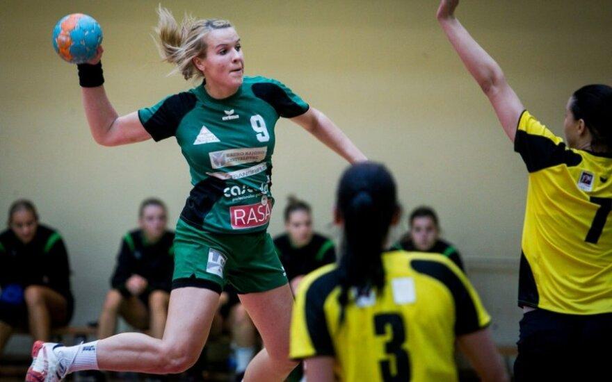 Lietuvos moterų rankinio čempionate - Garliavos komandos pergalė