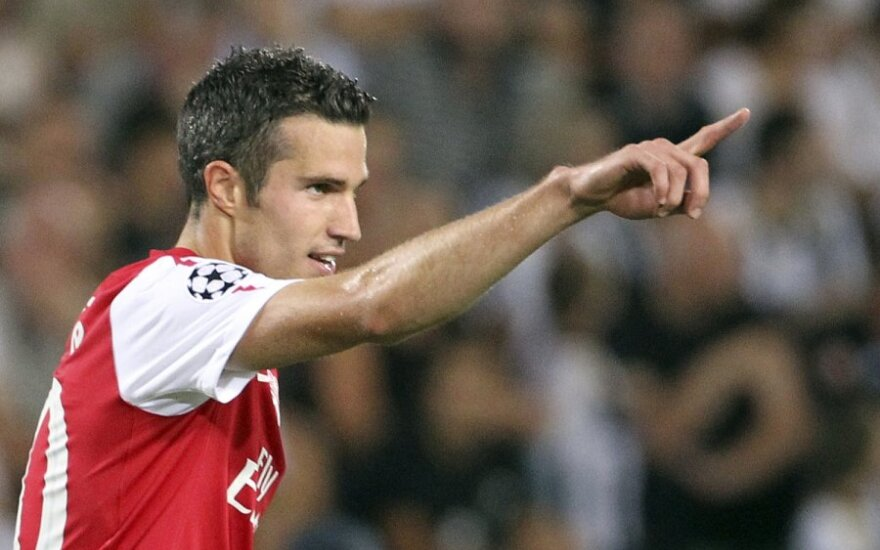 "Robinas van Persie (""Arsenal"")"