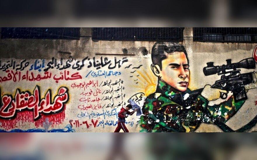 ES moka atlyginimus neegzistuojantiems darbuotojams Palestinoje