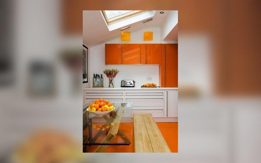 Moderni virtuvė