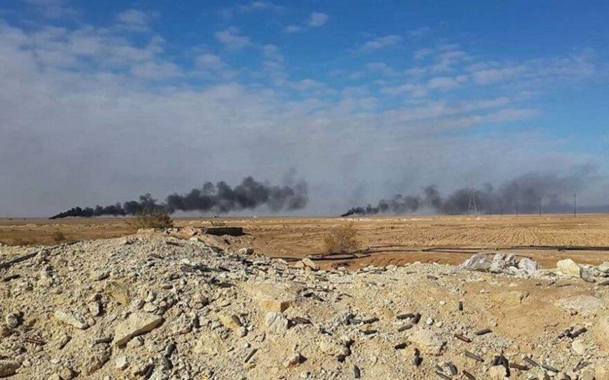 Olandija ketina dalyvauti JAV vadovaujamoje oro bombardavimų kampanijoje Sirijoje