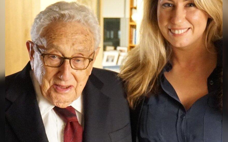 Giedrės Žickytės filme - interviu su diplomatijos legenda Henry Kissingeriu