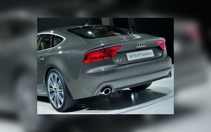 """""""Audi"""" šiemet tikisi pasiekti pardavimų rekordą"""