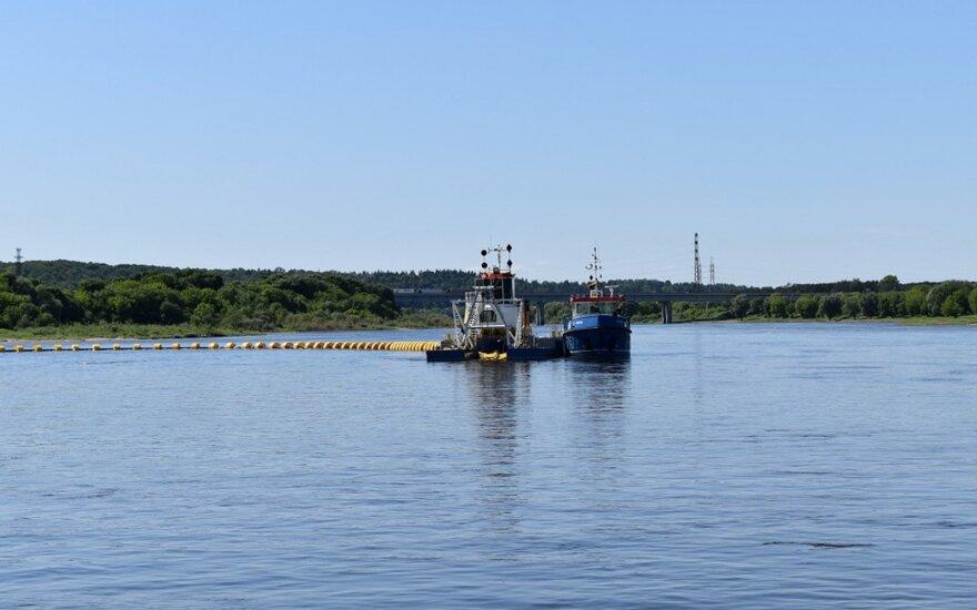 Vidaus vandenų keliuose - navigacijos sezono pradžia. VVKD nuotr.