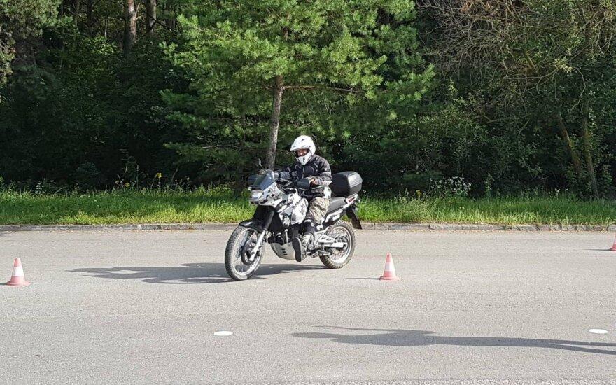 """""""Regitra"""" motociklininkams priminė naujovę"""