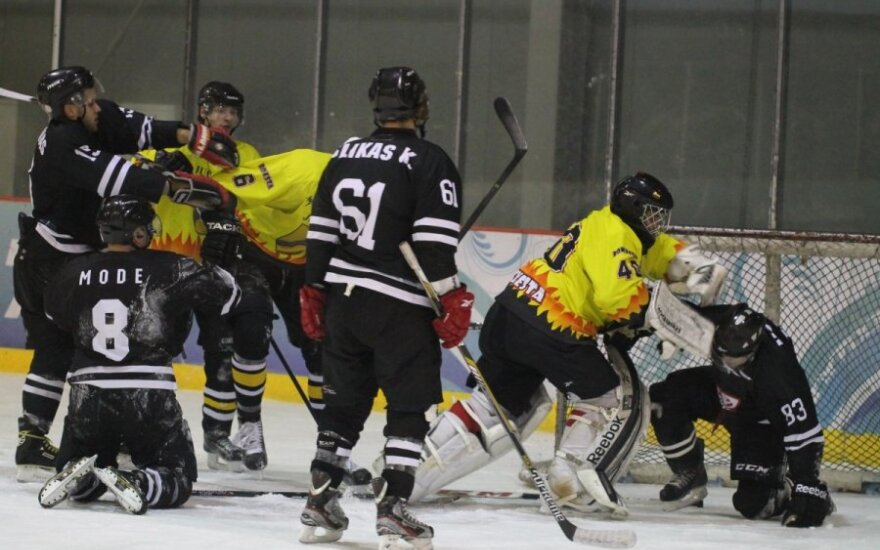 Lietuvos ledo ritulio čempionato mačas