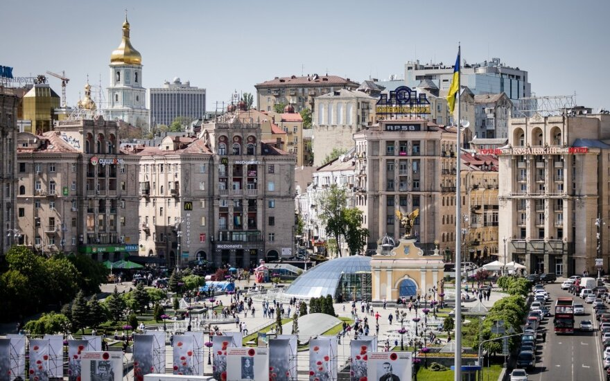 Kiev, Maidan Square