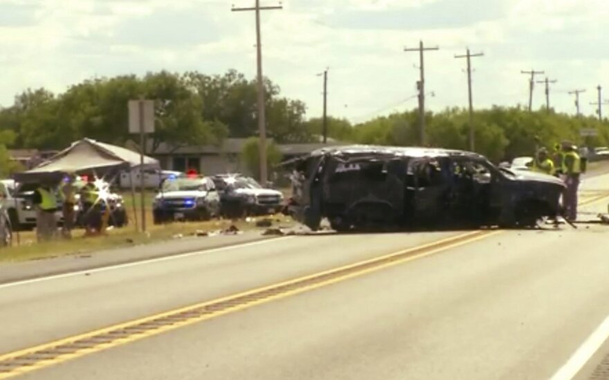 Teksase žuvo penki nuo pasieniečių sprukę imigrantai