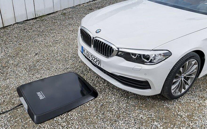 BMW belaidžio įkrovimo įranga
