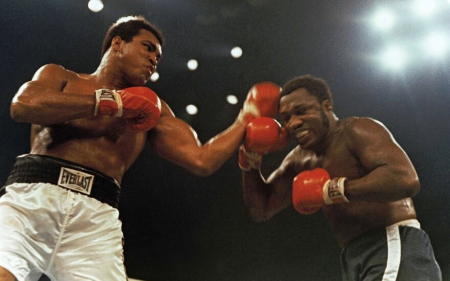 Joe Frazieris kovoja su Muhammadu Ali (1974)