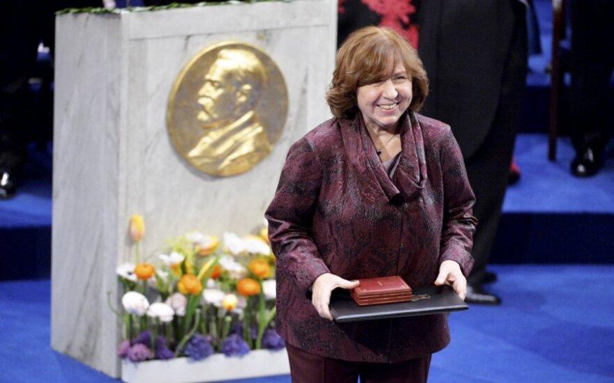 Apie Černobylį rašiusi Nobelio laureatė S. Aleksijevič: karas – tai žmogžudystė