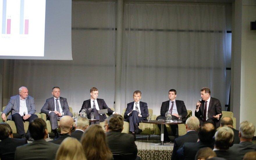 Lietuvos pramonininkų konfederacijos organizuota diskusija