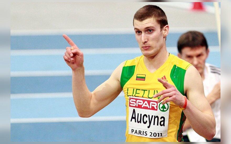 Lengvosios atletikos varžybose Minske - D.Aučynos pergalė