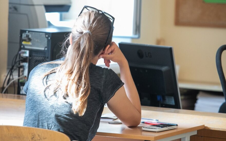 Abiturientę glumina matematika: jei man ji nepatinka, kodėl privalau laikyti egzaminą?