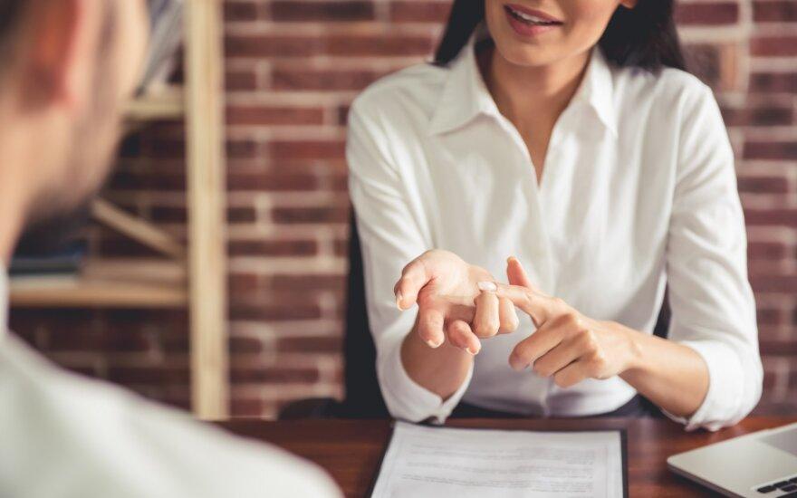 Ekspertė įvardijo, kada jūsų darbo pokalbis gali žlugti net neprasidėjęs: nedarykite šių dviejų klaidų