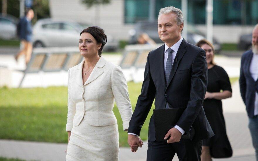 Gitano Nausėdos žmona Diana papasakojo apie vieną taisyklę, kurios sutarė laikytis šeima, jei vyras taps prezidentu