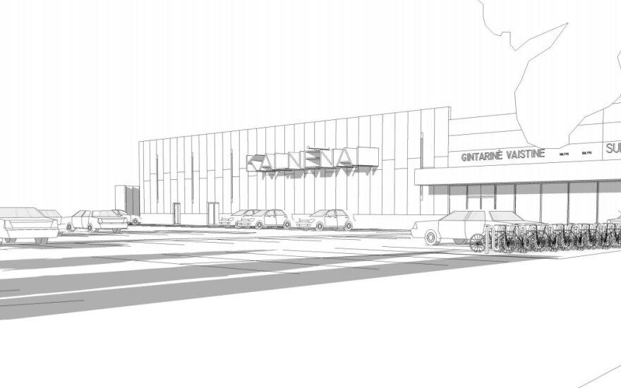 Kalnėnuose planuojamas didelis prekybos centras