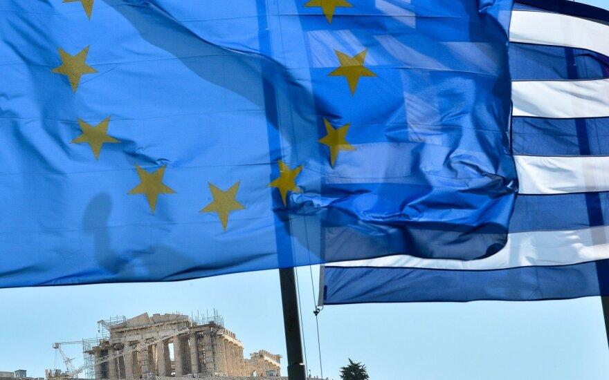 Euro zonos bankai skolino atsargiau