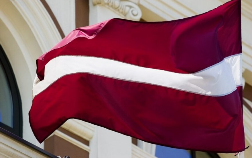 Latvia's new parliament speaker chooses Lithuania for her first foreign trip