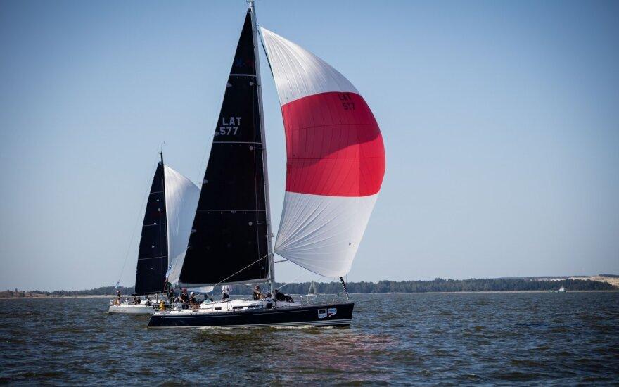 Kuršių marių regata, trečiadienio etapas