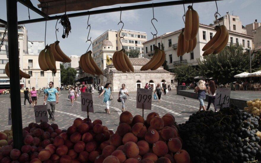Vaisių turgus Atėnuose