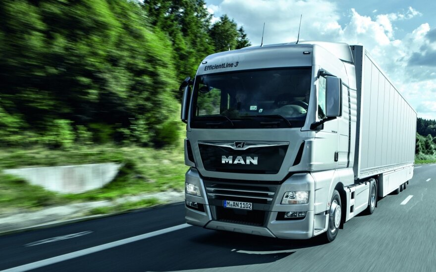 """MAN TGX 18.500 Efficient Line 3"" vilkikas"