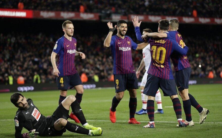 Ispanijoje – Messi rekordas ir pirmas Modričiaus įvartis