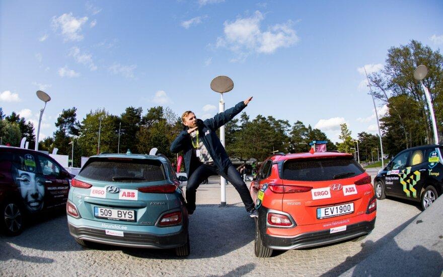 Laukia šeštosios elektromobilių varžybos