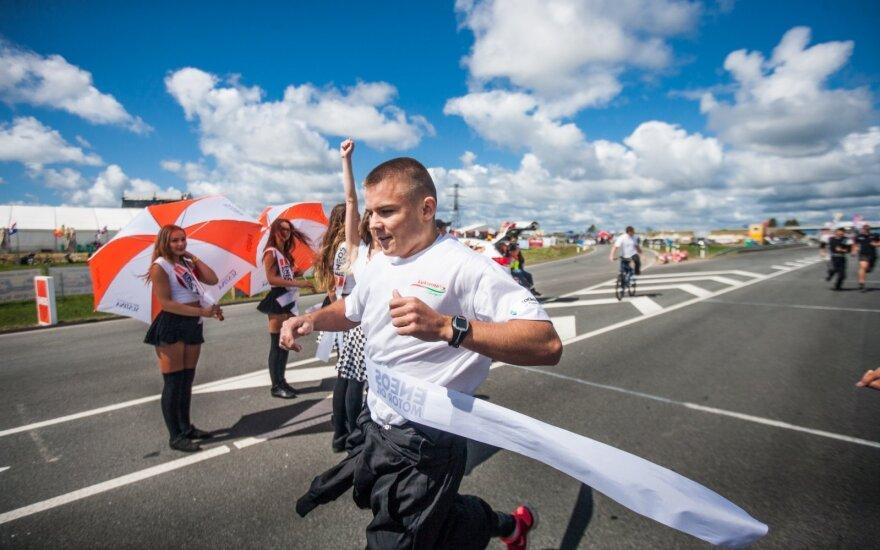 Mechanikų bėgimas 1000 km lenktynių trasoje
