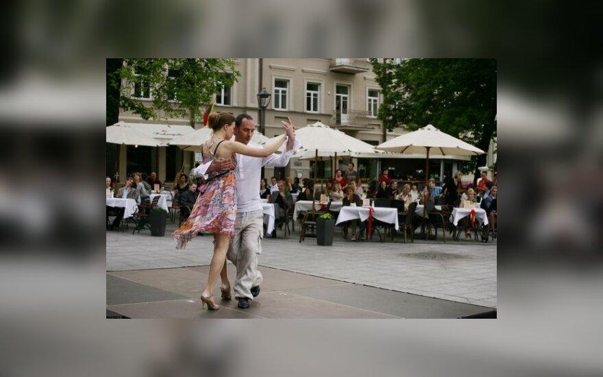 Irmantas Bačelis ir Lina Pavalkytė... Libertango...