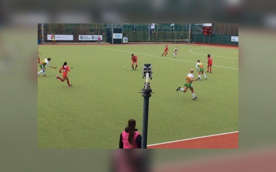 Lietuvės neprilygo Čilės komandai