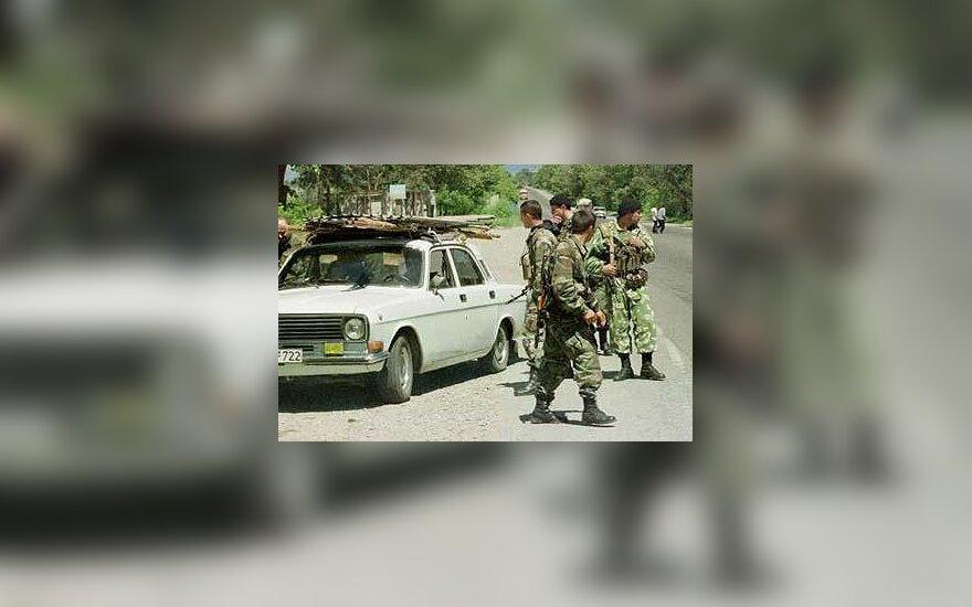 Maištaujantys Gruzijos kareiviai