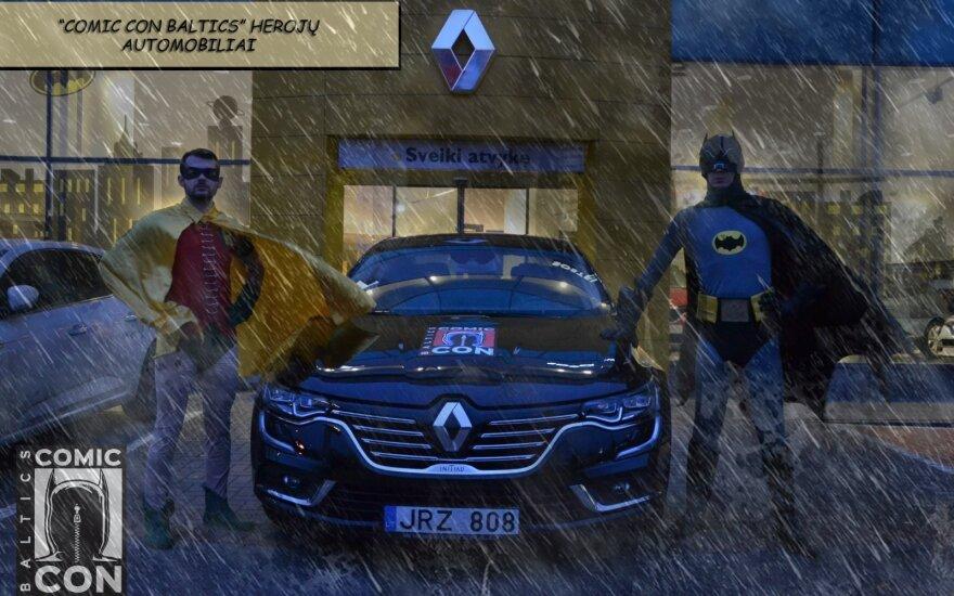 """""""Renault"""" superherojai"""