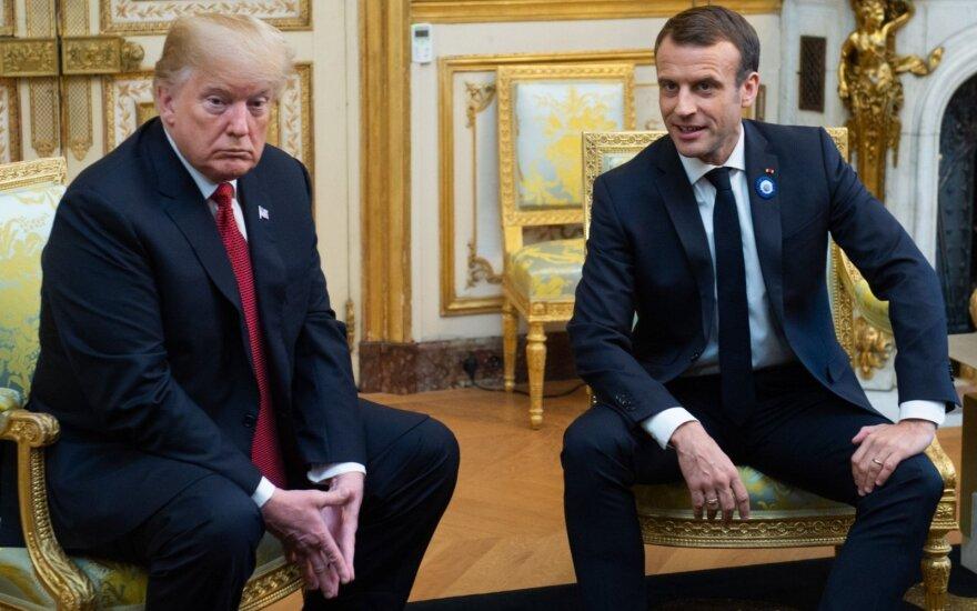 Donaldas Trumpas, Emmanuelis Macronas