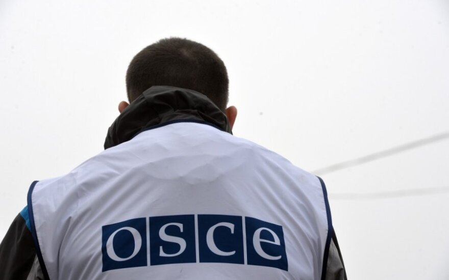Lithuanian Foreign Ministry earmarks EUR 30,000 for OSCE mission in Ukraine