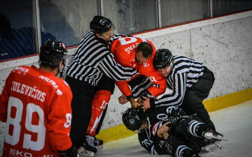 """Elektrėnų """"Energija""""  - Vilniaus """"Hockey Punks""""/ FOTO: Titas Pacauskas"""