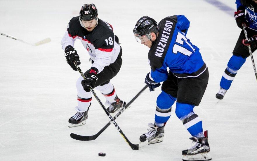 Estijos ledo ritulio rinktinė