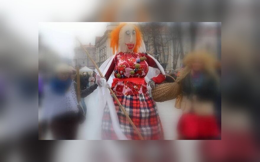 Užgavėnės Vilniuje. Nuotrauka iš VEKC archyvo