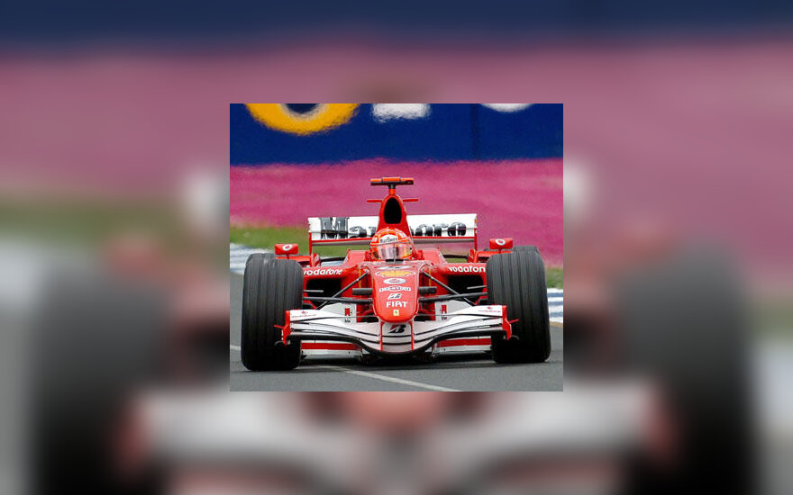 "Michael Schumacher (""Ferrari"")"
