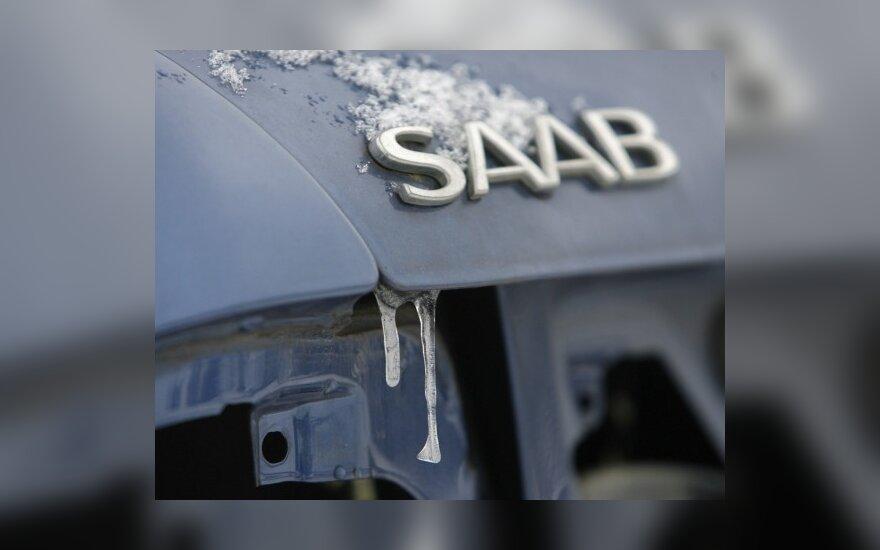 """""""General Motors"""" pradeda """"Saab"""" likvidavimą, o kandidatai dar nesudeda ginklų"""