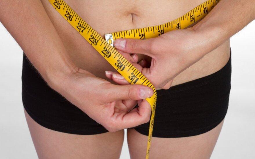 Kaip ištirpdyti per nėštumą sukauptus kilogramus?