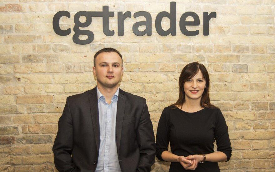 Founders-Marius Kalytis and Dalia Lašaitė