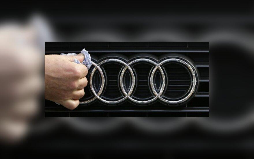 """""""Audi"""" pelnas per metus sumenko 39 proc."""