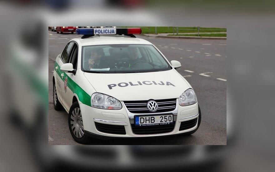 Policija primena apie atsakomybę už greičio viršijimą