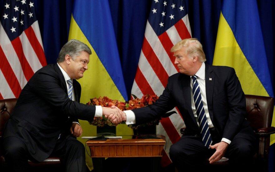 D. Trumpas: JAV palaiko visišką Ukrainos suverenitetą ir teritorinį vientisumą