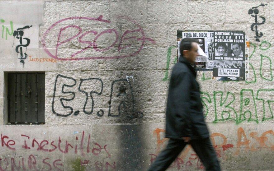 Baskų separatistų grupuotė ETA užbaigė paskutinį Europos ginkluotą sukilimą