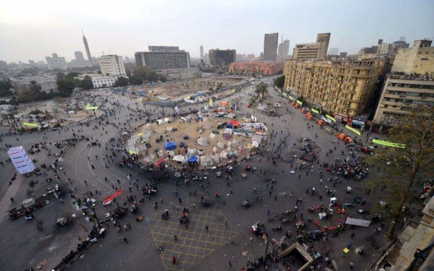 Egipte per susirėmimus žuvo kelios dešimtys žmonių