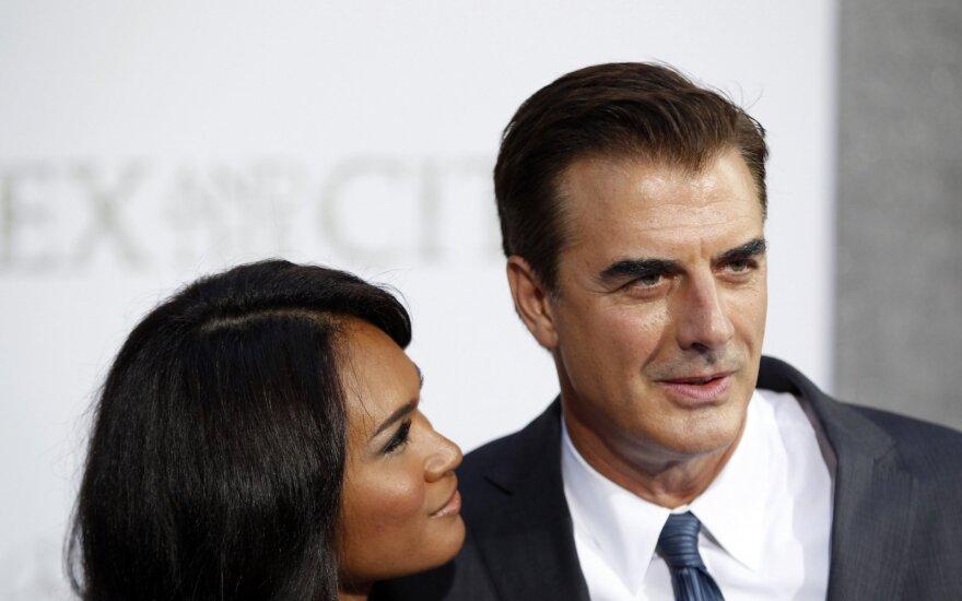 Chrisas Nothas su žmona