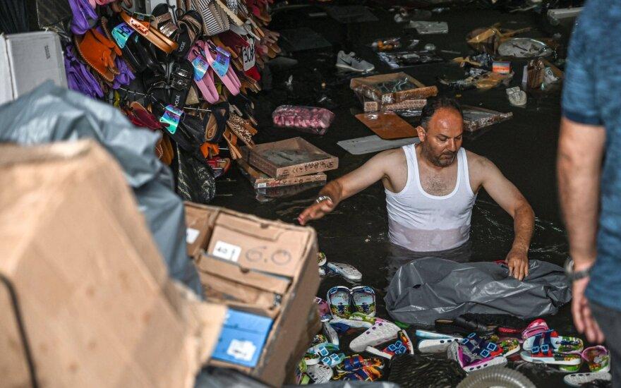 Potvynis Stambule