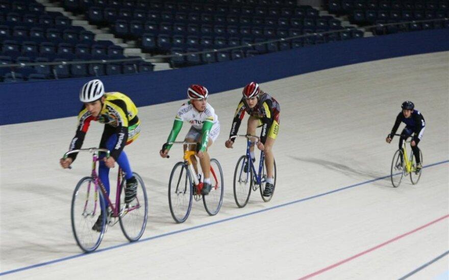 Panevėžio arenos dviračių trekas